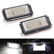 No Error White 18 LED License Plate Lights Lamp for BMW Mini Cooper R50 R52 R53