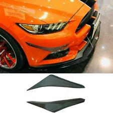 Carbon Fiber Front Bumper Splitters  Aprons for Ford Mustang 2015 2016 2017 2018