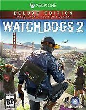 Watch Dogs 2: Deluxe Edition (Microsoft Xbox One, 2016)