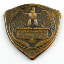 USA US Commemorative Medal 1904 Louisiana Purchase Exposition Only 6000 Comme neuf