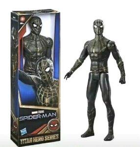 Marvel Titan Hero Spider-Man No Way Home: Spider-Man in Black and Gold Suit