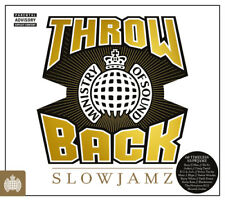Various Artists : Throwback Slowjamz CD (2016) ***NEW***