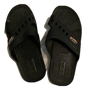 Adult Rubber Sole Slippers Flip Flops Sandals Slides Sport Brand ZD-1018 Size 43