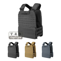 Tactical MOLLE Adjustable Weighted Vest Plate Carrier Quick Release for CrossFit