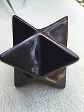 Elite Shungite Merkaba Specimen Stone Protection Healing Anti Radiation Karelia.