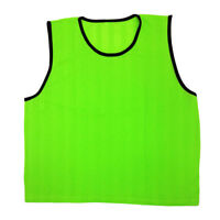 NEW! GoTEAM SPORT TRAINING PINNIES - STRIPED MESH - ADULTS/YOUTH SCRIMMAGE VESTS