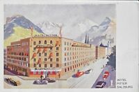 Ephemera Austria Salzburg Hotel Pitter Vintage