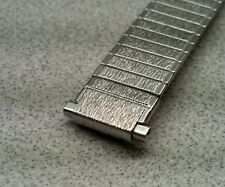 Vintage NOS Speidel Twist-On 11-14mm Adj Ends Stainless Expansion Watch Band