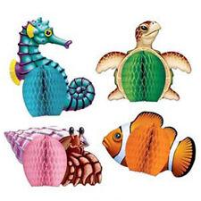 Party Supplies Decorations Tropical Hawaiian Luau Mini Sea Creatures Centrepiece