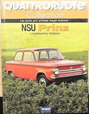 MAGAZINE BOOK QUATTRORUOTE NSU PRINZ MODÈLE AUTO VOITURE MINIATURE 1:24 NOUVEAU