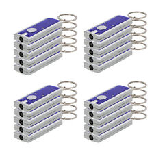New Hot 20Pcs Mini Light LED Camping FlashLight Keychain Torch Lamp High Quality