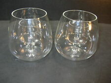 Set of 2 Chevalier Collection Stemless Aerating Wine Glasses