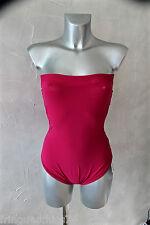 maillot de bain bandeau rose artificiel ERES led micro T 38 (US 6) NEUF val 330€