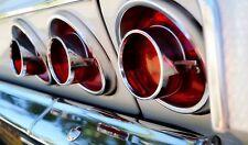 SS 409 1960s Chevy Impala Car Vintage Sport Rare Carousel Blue 1 24 Metal 18