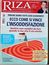 RIZA  Ottobre 2012 n 380  ECCO COME SI VINCE L'INSODDISFAZIONE