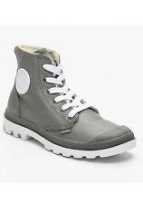 PALLADIUM Chaussures montantes Blanc Hi en cuir blanc et gris  TAILLE 37 NEUF