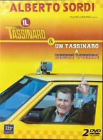 IL Tassinaro e Un Tassinaro a New york DVD 2 Dischi Alberto Sordi New Sigillato