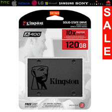 "OFFICIAL KINGSTON A400 2.5"" 120GB SATA III SOLID STATE DRIVE SSD WARRANTY 1 YEAR"