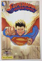 Superman Adventures 1 Doritos Dollar General Variant VF 2016 Exclusive DC Comics