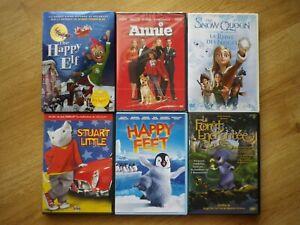 Lot De 6 dvd pour enfants