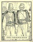 Costumes Guardian Turkey Bulgaria Greece TOBACCO HISTORY HISTOIRE TABAC CARD 30s