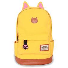 Kids Boy Girl Funny kitty School Bags Backpack Travel Rucksack Shoulder Bag Book