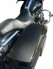 Saddlebag Lid Covers for Harley Davidson Road King,Street Glide,Electra 94-2013