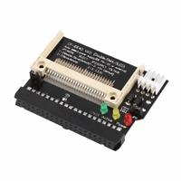 Neu Compact Flash Cf Speicherkarte Zu 3.5 Buchse 40 Polig Ide Adapter HC533 #720