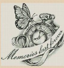 Butterfly Memories no. 446  Cross stitch chart FlowerPower37-uk