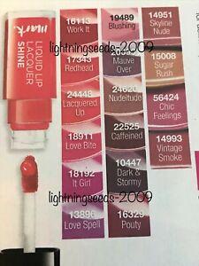 Avon Mark. Liquid Lip Lacquer SHINE / MATTE Varies Colours / Shades 7ml