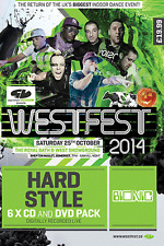 "Westfest 2014    ""Bionic/Hardstyle 6CD/DVD/MP3DVD"""