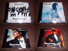 MICHAEL JACKSON - MEGAMIXES 1/2/3/4 - 4 CDs