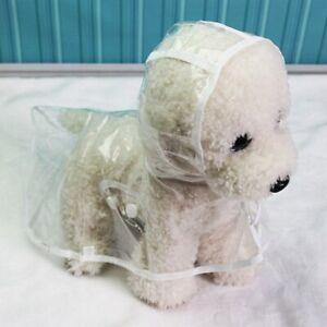 Waterproof Transparent Raincoats XS-XL Dog Raincoat Dog Light Clothes Pet Coat