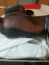 """New listing Wolverine Marquette 6"""" Steel Toe Boots. Men's size 10 Ew"""