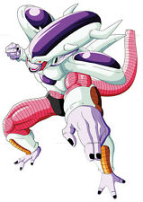 STICKER POSTER MANGA DRAGON BALL Z.  FREEZER 2eme FORME SAGA DBZ NAMEK  . A4