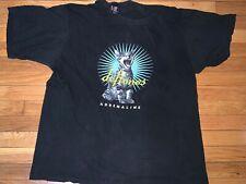 VINTAGE RARE DEFTONES Screaming Cat Black T-Shirt XL - USED