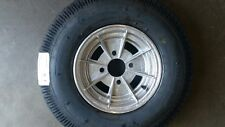 MINI 10 INCH ALLOY MAG WHEEL RIM AND 6PLY TYRE SUIT BOX OR BOAT TRAILER 4 STUD