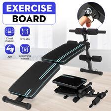 Adjustable Sit up Bench AB Flat Incline Decline Abdominal Training Crunch