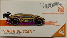 NEW HOT WHEELS 2019 ID SUPER BLITZEN SERIES 1 LIMITED RUN COLLECTIBLE TOY CAR