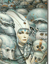 unframed art poster fantasy sci fi woman and army of aliens (Lv124)