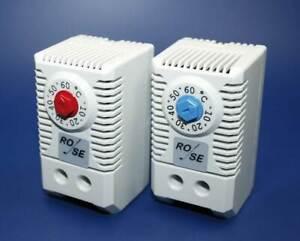 Thermostat Öffner 0-60° C Schaltschrank Steuerung Temperatur