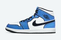 Nike Air Jordan 1 Mid SE DD6834-402 Signal Blue Men's Size 7 - 13