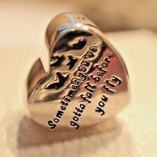 AUTHENTIC PANDORA CHARM HEART OF FREEDOM 791967