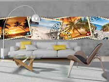 Wundervolle Xxl VLIES   FOTOTAPETE Wanddeko Tapete 15F0152560 Briefmarken aus de
