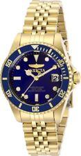 Invicta Women's 29191 Pro Diver Quartz 3 Hand Blue Dial Watch