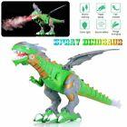 UK Electric Walking Dragon Toy Fire Breathing Water Spray Dinosaur Boys Gift