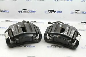 BMW E60 E61 M5 E63 E64 M6 FRONT BRAKE CALIPERS WITH CARRIERS PAIR