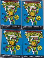 Topps Teenage Mutant Ninja Turtles  8 packs, unopened 1989 cards. 29yrs old