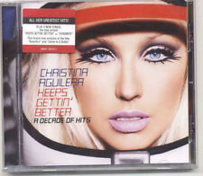 CD DANCE POP-CHRISTINA AGUILERA/KEEPS GETTIN BETTER A DECADE OF HITS hit,beyonce