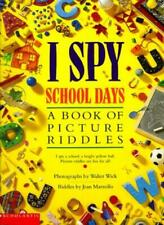 I Spy School Days By Jean Marzollo, Walter Wick